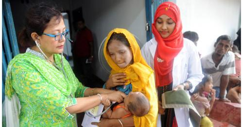 Ad-Din Medical camp for Rohinga (Ukhiya)